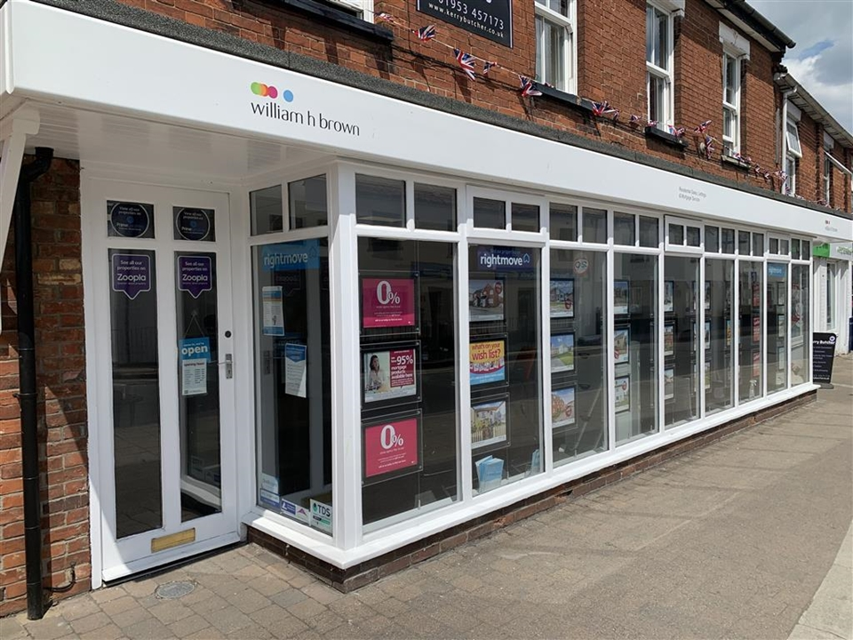 William H Brown Estate agents in Attleborough.