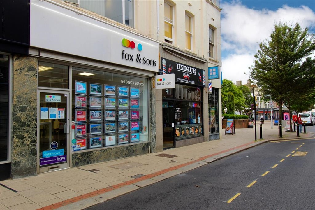 Fox & Sons Office is located in Worthing Town Centre. We are here to help you BUY, SELL, LET or RENT your home as well as offering MORTGAGE ADVICE.