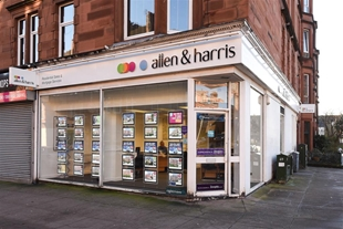 Allen & Harris Estate Agents, Dennistoun, Glasgow - Offering advice on buying, selling, mortgages and much more to buyers & sellers.