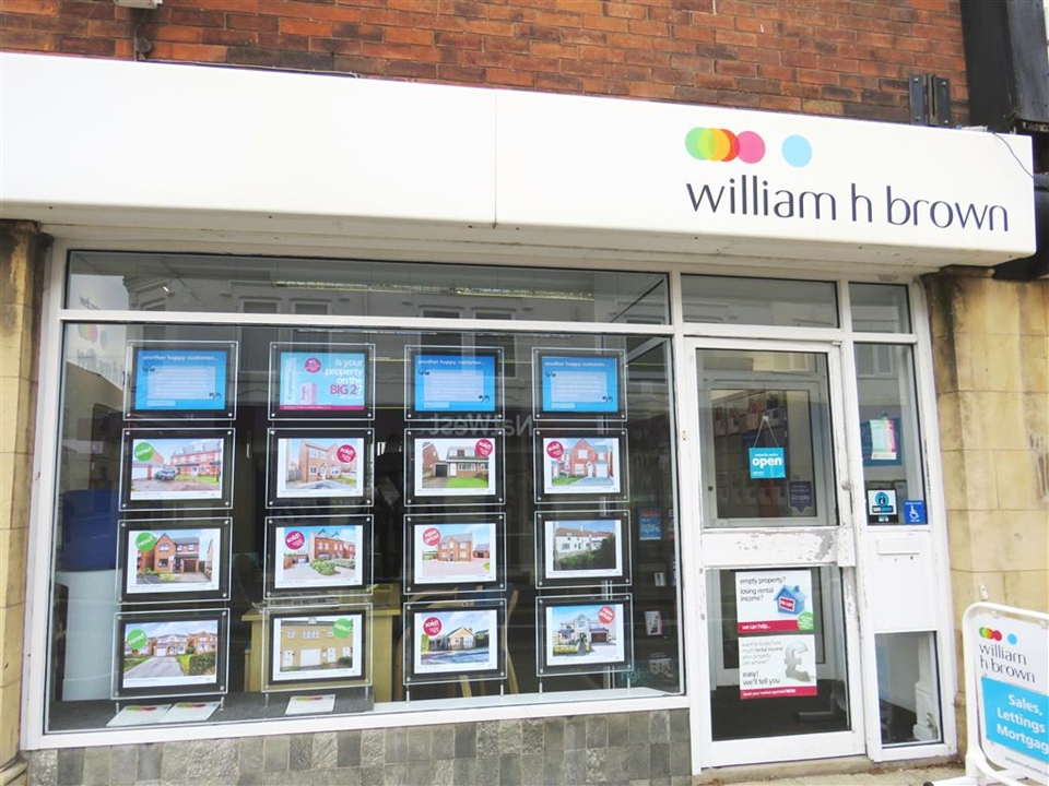 William H Brown, Dinnington-  Highlighting our Summer Sale window