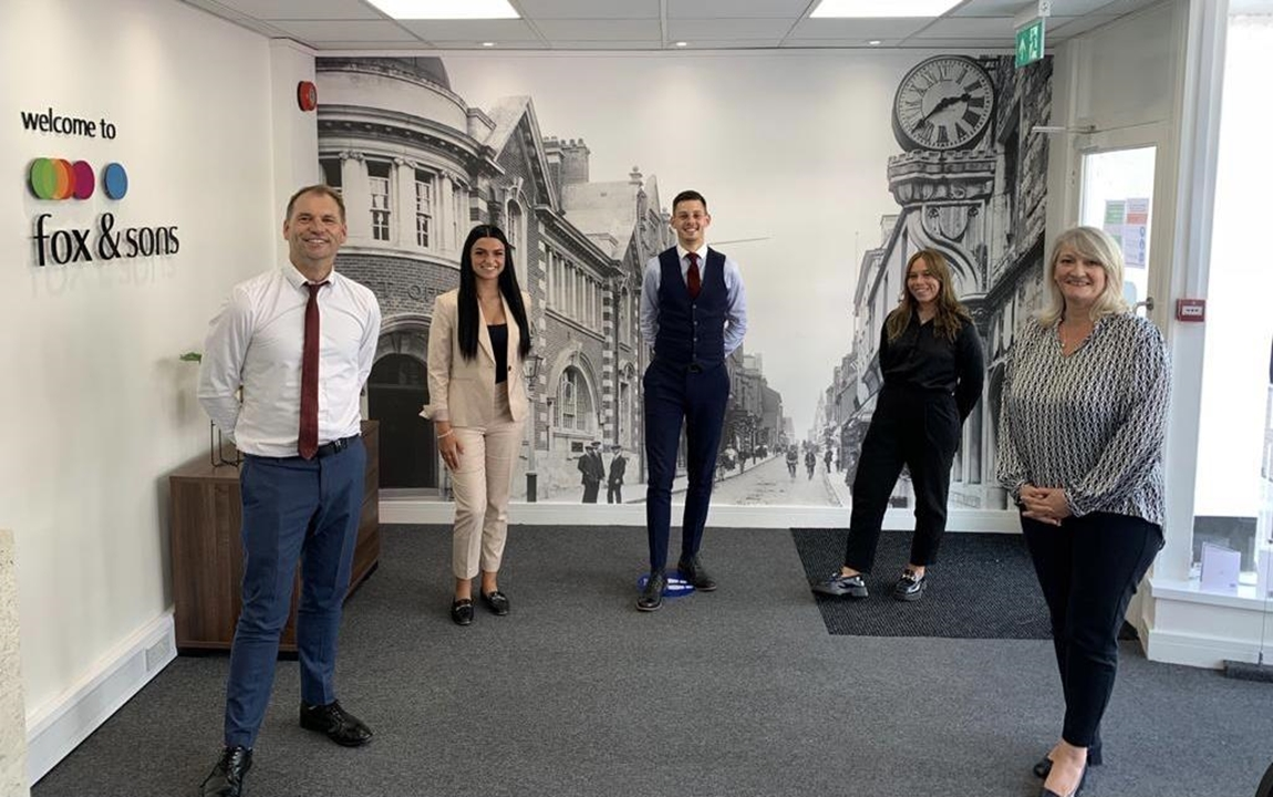 Branch Manager Jack runs a very successful Dorchester office with his team Matthew, Julie and Calvin and with Mortgage Manager Gemma.