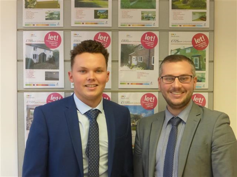 Fox & Sons Lettings and proud to announce another successful month ran by Manager Glenn Matthews and Negotiator George Dukes