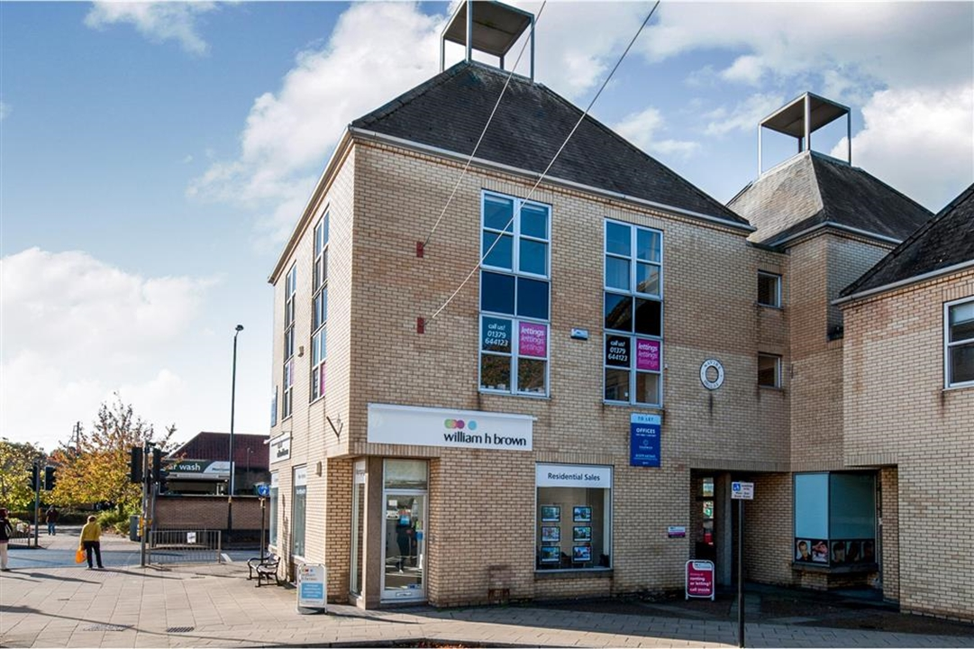 William H Brown in Diss are here to help with every aspect of buying, selling, letting and renting. Situated in a great position on Mere Street, Diss.