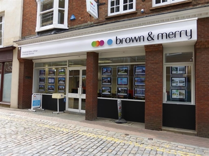 Located in the historical Aylesbury Town centre on Market Street, Brown & Merry estate agents would love to help you sell or let your property.
