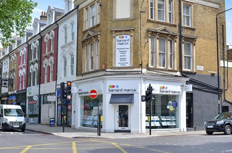 Barnard Marcus Estate Agents in Earl's Court.