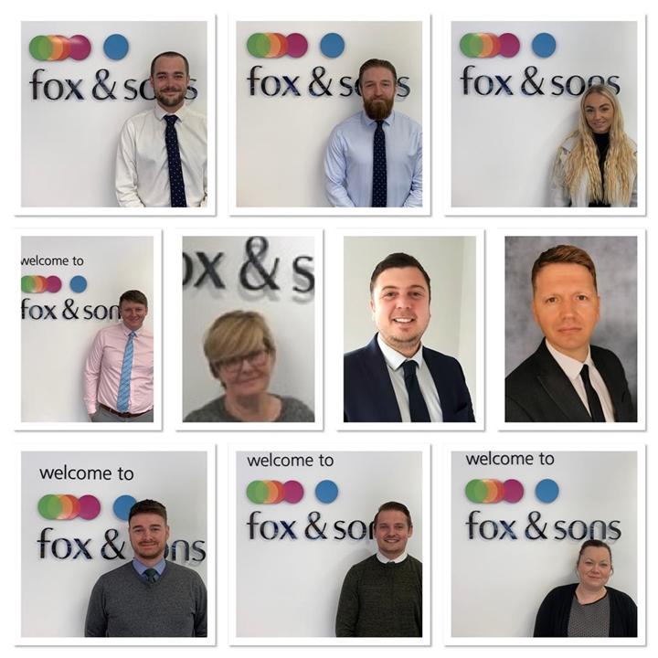 Fox & Sons estate agent's dedicated sales team in Gosport
