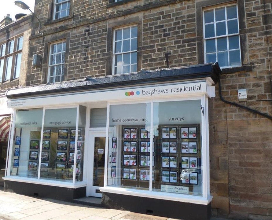 Bagshaws Residential Estate Agents in Bakewell, situated on Bridge Street in the heart of Bakewell Centre.