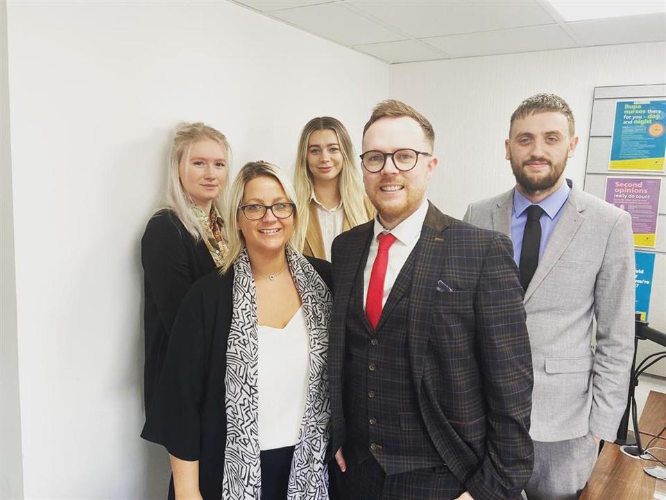 Sales Team - Adam Lynch, Jon Snell, Paul Leaper, Sarah Clifton, Dan Overy, Elaine Willson-Day, Mary Trett, Leanne Barnard, Lauren Cone