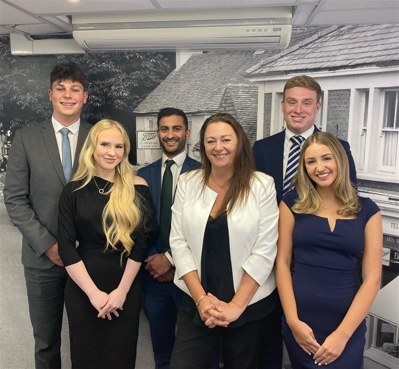 Hailsham Team - Claire - Branch Manager, Demi - Admin/Negotiator, Toby - Office Based Negotiator, Henri Viewing Canvasser & Imran - Mortgage Services