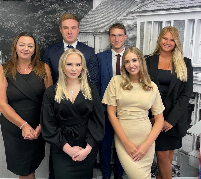 Our sales team - Claire Sturland, Imran Ali, Shannon Da Silva, Andrew Stretton and Tom Boys