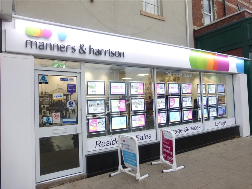 Manners & Harrison Estate Agents in Hartlepool.