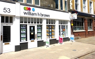 William H Brown Estate Agents in Braintree. Call 01376 320018