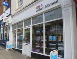 William H Brown Estate Agents is located in the heart of St. Albans City centre on Chequer Street - we are here to help with your property search.