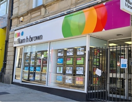 William H Brown Estate Agents and Residential Lettings-  8 Westgate, Huddersfield, HD1 1NN    Branch Picture 2019