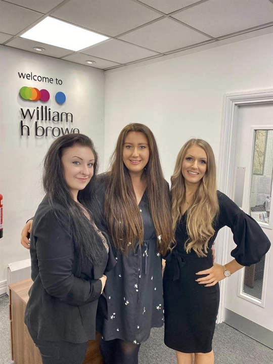 Record breaking letting's team - Bethany, Amy and Sapphire are meagre to help with any letting's queries you may have