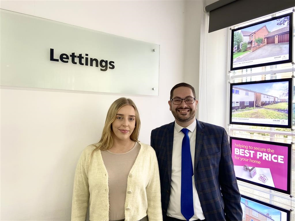 Brown & Merry Letting's Team Stephen Coundon and Chloe Hancock both hold excellent knowledge of letting's in & around the Hemel area.