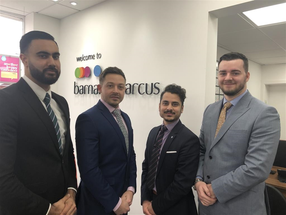 The Residential Sales Team at Barnard Marcus in Hayes.
