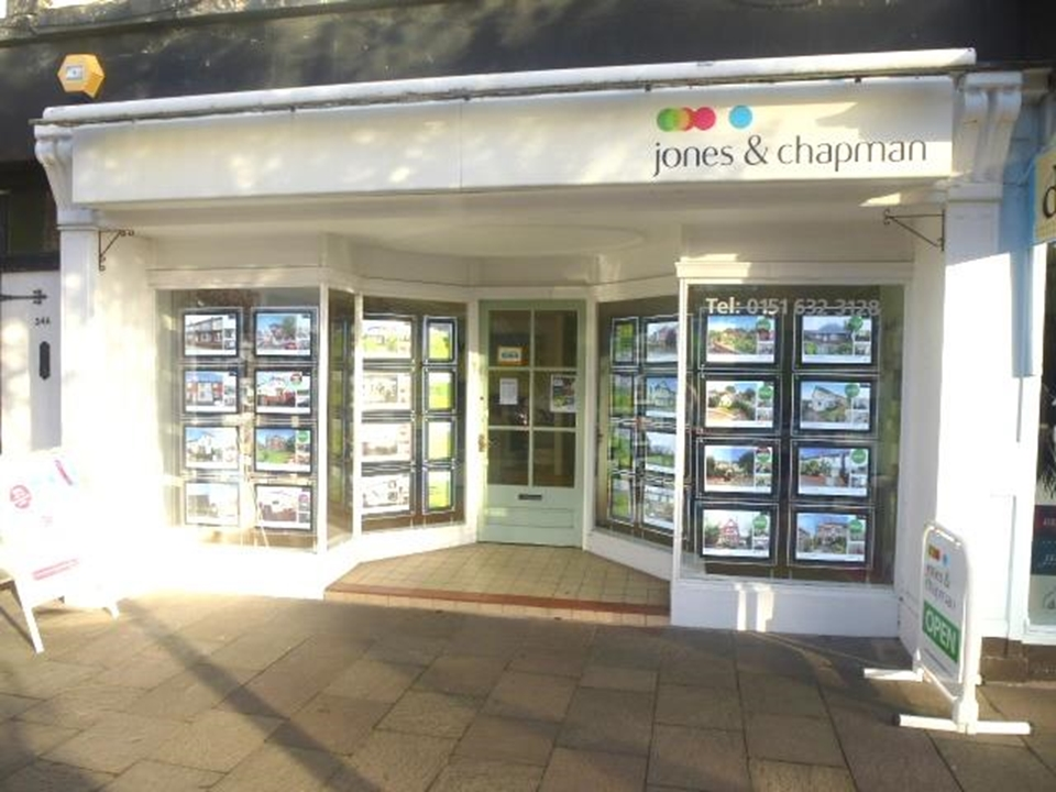 Jones and Chapman  Hoylake would love to sell or let your property and help you with your onward purchase.