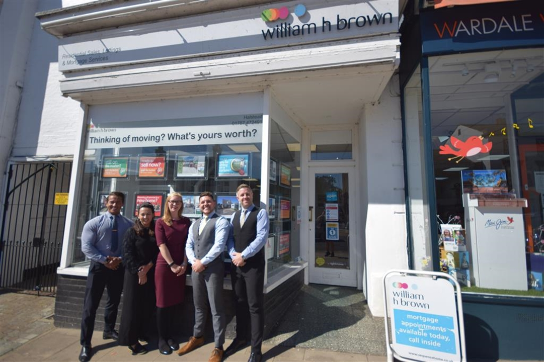 The team at William H Brown in Halstead, would love to help you sell your house or find your dream  property in Halstead and the surrounding villages.