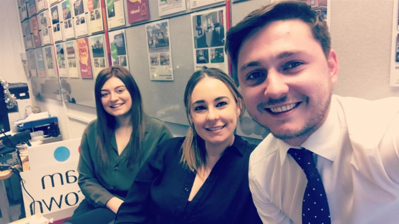 Claire Caulton-Newton -Branch Manager Jack Sapey-Lister Lauren McClure-Negotiator Olivia Hine -Administrator