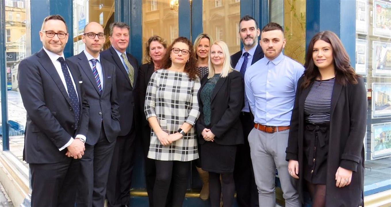 Meet the Sales & Lettings teams at Allen & Harris Bath