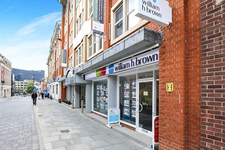 William H Brown Estate agents located in Ipswich town centre.