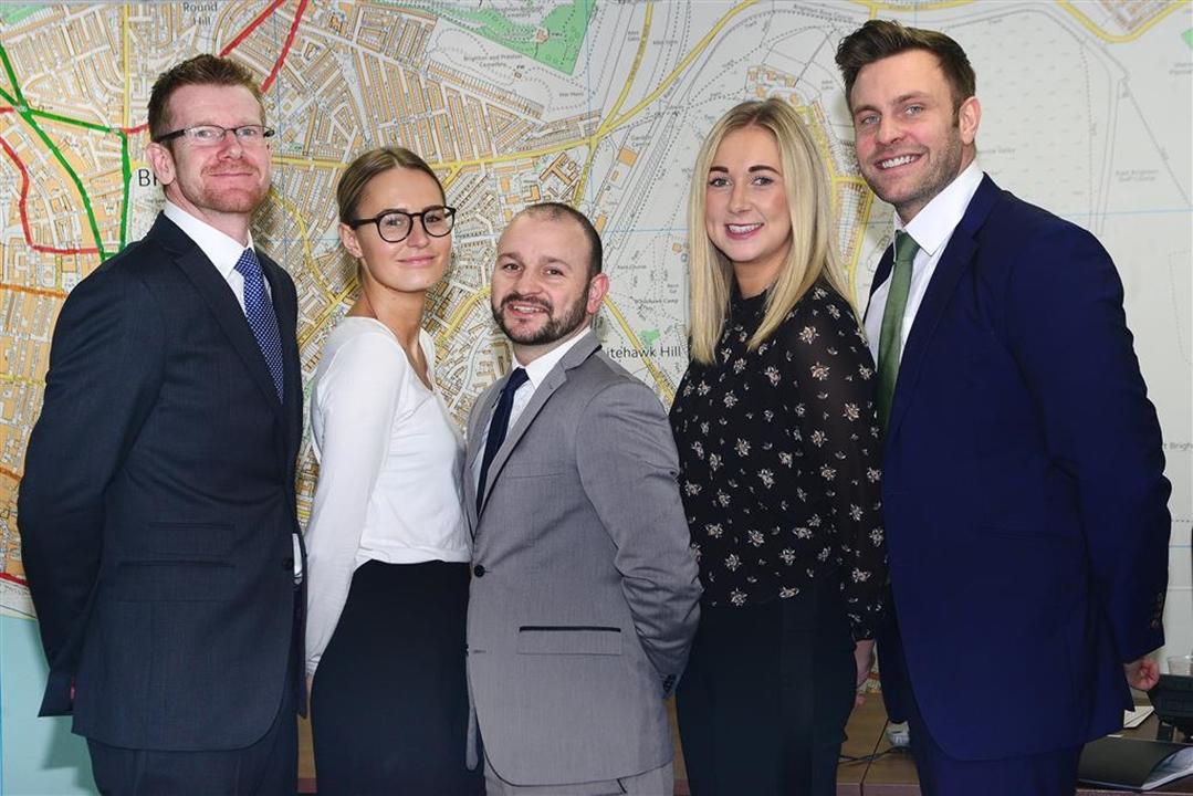 The sales team; Edward Middle, Ben Vasey, Phoebe Huggins, Giselle Brindley, Michael Varagoulis,