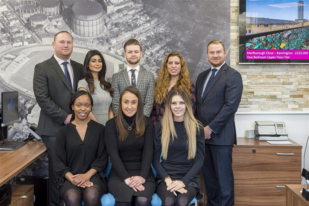 The Sales & Lettings Team at Barnard Marcus Estate Agents in Kennington