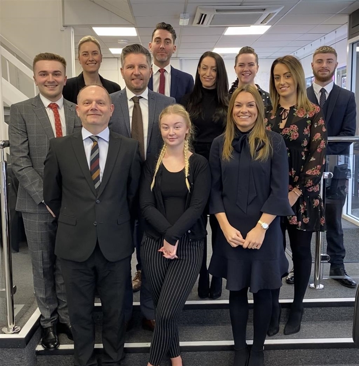 Area Manager Rob Moore and his team. They are ready to speak to you whether you are thinking about buying, selling, letting or need a mortgage.