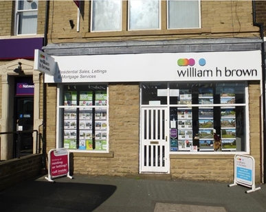 William H Brown estate and lettings agents in Wibsey Village, located on the high street opposite the Co-Op. Pop in and View our properties today!