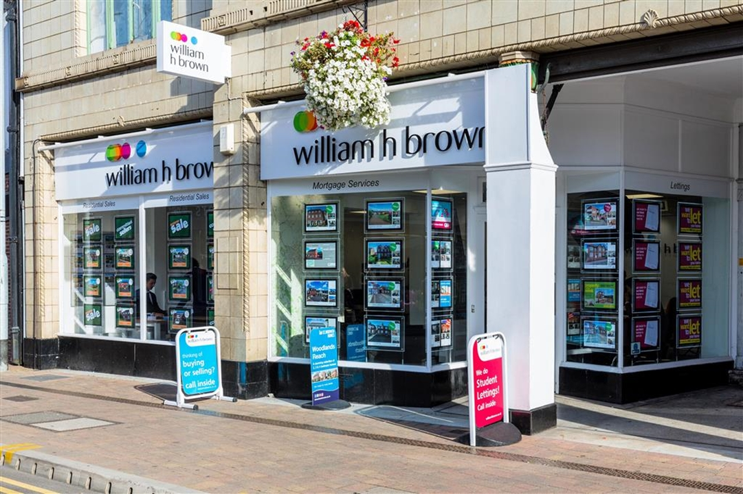 William H Brown Estate Agents situated in Loughborough town centre. Wealth of market knowledge in sales, letting's, mortgages & much more
