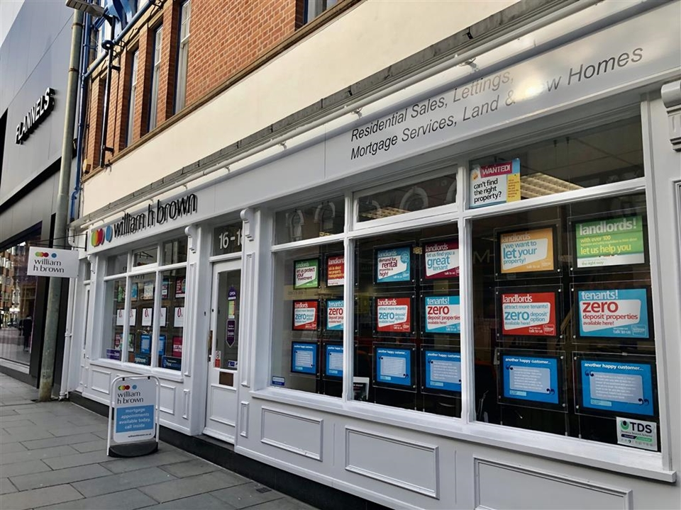 We have one of the largest vibrant & prominent window displays on Halford Street showcasing our properties for sale & to rent. Come in & meet the team