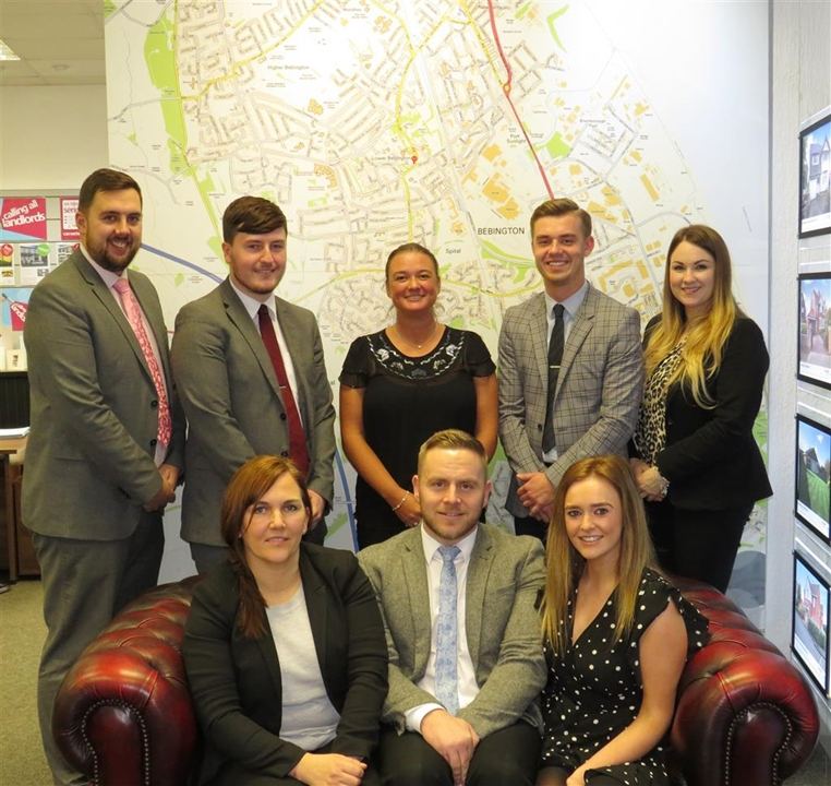 Jones & Chapman, sales, lettings and mortgage services team.