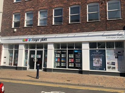 Roger Platt Estate Agents Office in Queen Street Maidenhead.