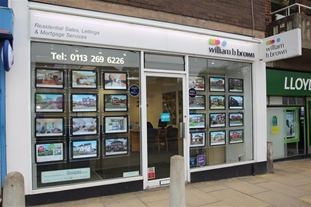 William H Brown Estate agents in Moortown