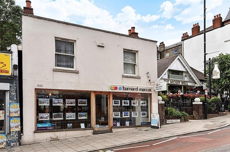 Barnard Marcus Estate Agents is located on Muswell Hill Broadway N10 Closest underground stations are: Highgate tube and Bounds Green tube station