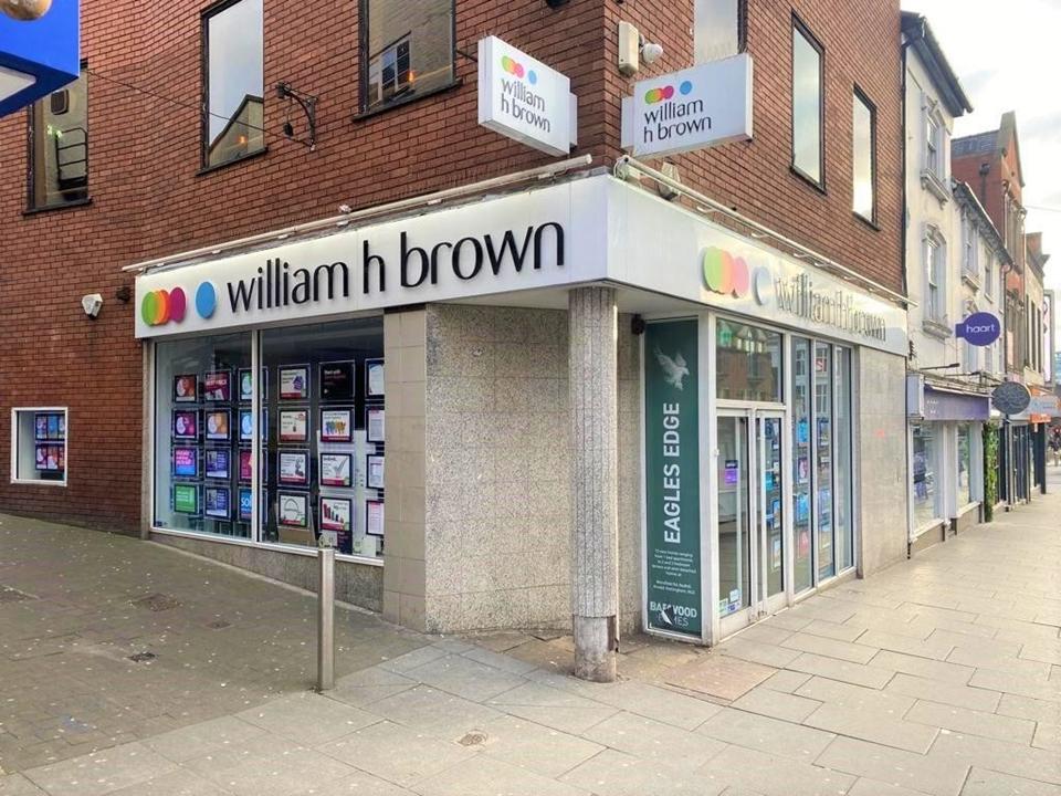 William H Brown Estate agents in Nottingham City Centre