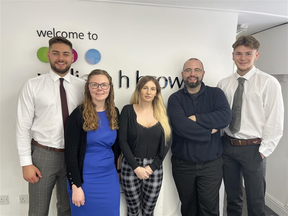 North Walsham Lettings Team: Kirsty Underwood (Senior Lettings Negotiator), Nicole Neave (Senior Lettings Lister) & Emma Furness (Lettings Negotiator)