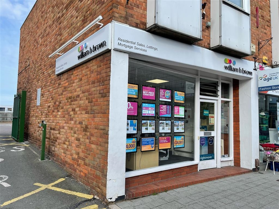 William H Brown's office is in the heart of Oadby Town close to all the local amenities, pop in today for a chat about the local housing market.