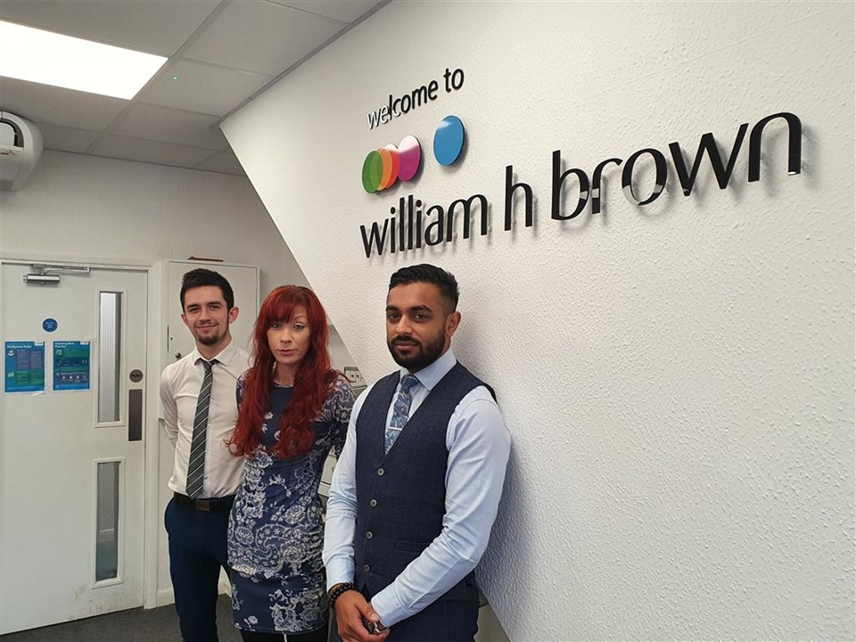 Lister Adam Watson, Negotiator Ajay Patel, Administrator Shelley Bass and Mortgage Advisor Natasha Conroy.