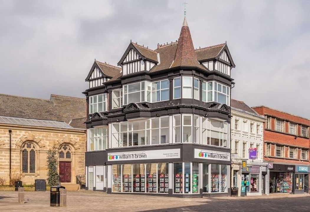 William H Brown Estate Agents in Pontefract. We are based in an iconic historic town centre heritage building with access to transport links.
