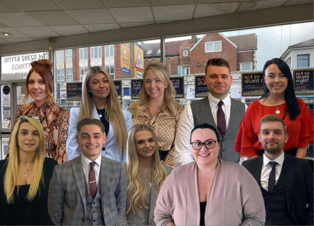 The Estate Agency team at Fox & Sons in Portsmouth. We can help with all your house needs from selling, buying, renting, lettings and mortgage service