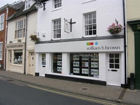 William H Brown Estate Agents in Bungay, offer a range of services including Buying, Selling, Letting, Free Market Appraisals & Mortgage Services.