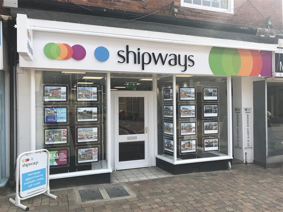Shipways Estate Agents: Our newly refurbished town centre branch is situated opposite the Post Office. Pop in for free, friendly advice.