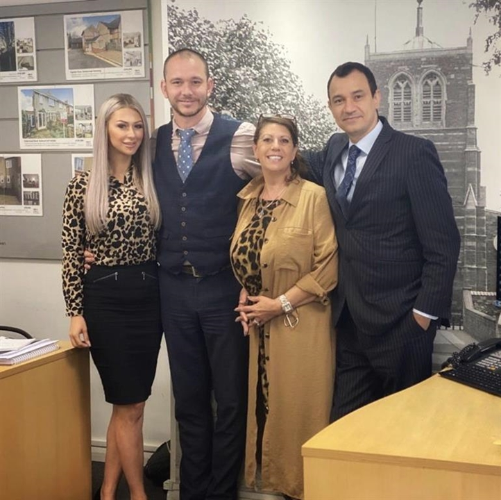 Meet the WH Brown Family at Rothwell :Daniel-Branch Manager, Alison-Senior Negotiator, Amrit-Mortgage Adviser and Chloe - Branch Administrator.
