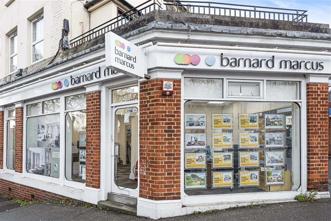 Barnard Marcus Estate Agents Located opposite Sanderstead Train Station.