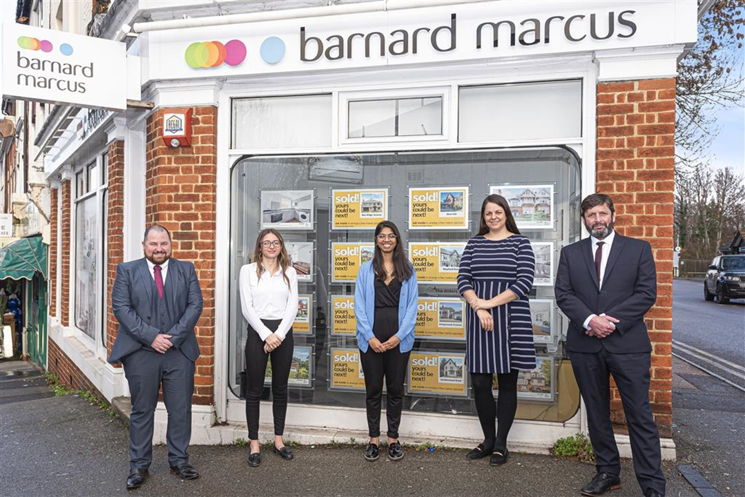 The experienced and dedicated team at Barnard Marcus in Sanderstead, here to help you with all your property needs!