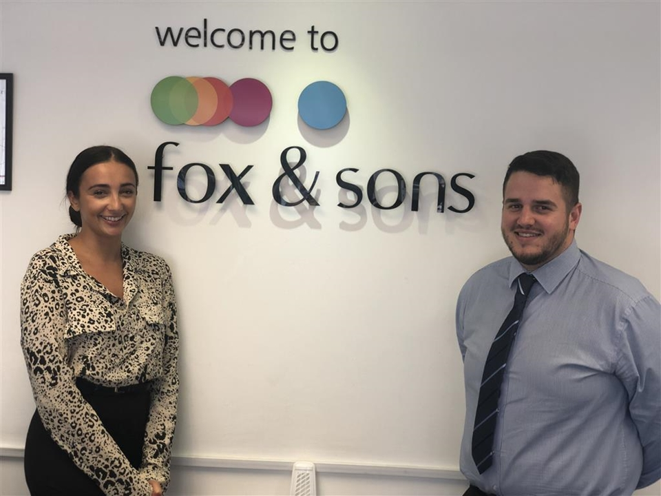 Welcoming our Letting's team... Laura Bradley - Letting's Manager & Thomas Kevern - Letting's Negotiator