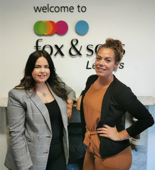 Lettings Manager Samantha Cadman & Senior Lettings Negotiator Ashleigh Dann