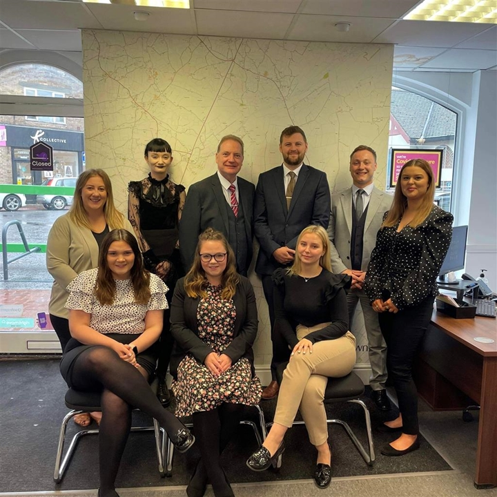 The William H Brown Sales Team In Spalding.